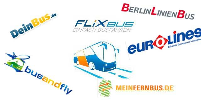 Fernbus-Anbieter