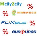 Fernbus-Gutscheine Übersicht