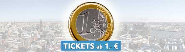 FlixBus 1 Euro Tickets